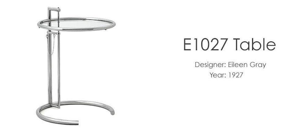 Eileen Gray bord E-1027