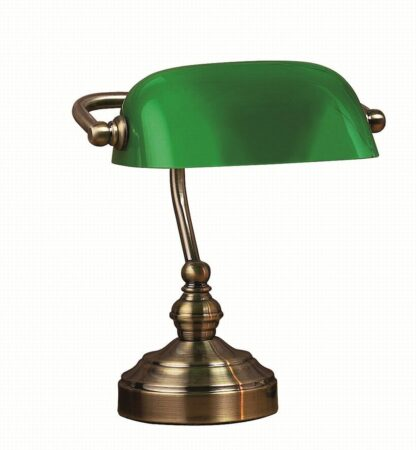 Bankers bordslampa liten