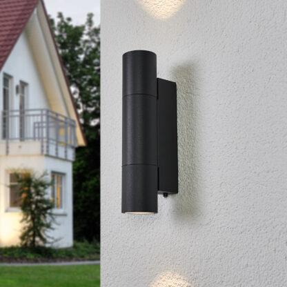 Bega – LED-utomhusvägglampa 66512K3 tvåsidig