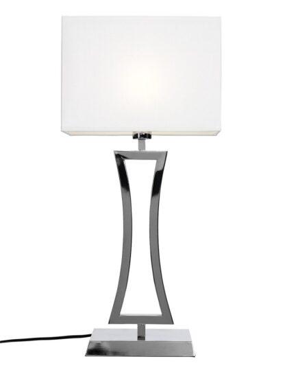 Belgravia bordlampa (Förkromad/blank)