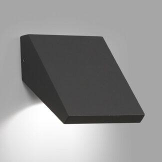 LED-utomhusvägglampa Guiza