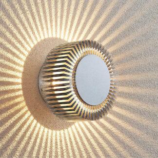 Lucande Keany LED-utomhusvägglampa