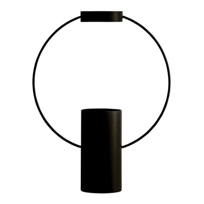 Moon Vas 21x16,5 cm Svart