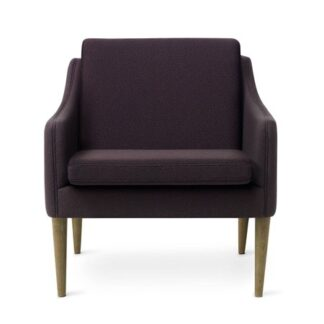 Mr. Olsen Lounge Chair Eggplant Smoked Ek