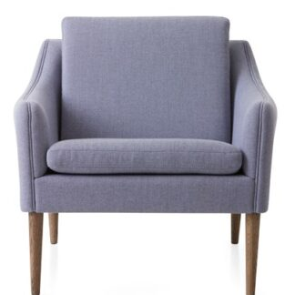 Mr. Olsen Lounge Chair Soft Violet Smoked Ek