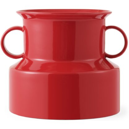 Normann Copenhagen Panto Vas Ø 22 x H 19 cm Lollipop Red