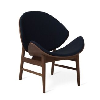 The Orange Lounge Chair Midnight Blue Smoked Ek