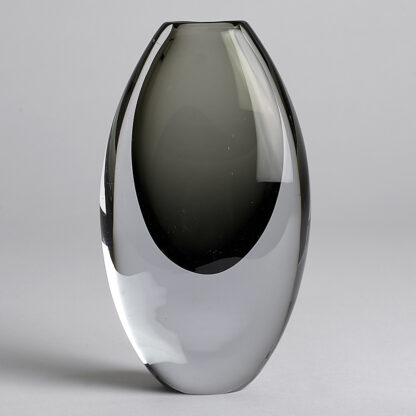Vintage Vas 15 cm Grå