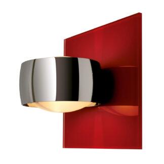Dekorativ vägglampa Grace Unlimited rött/krom