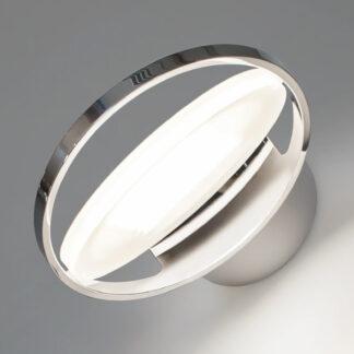 Nimbus Rim R 36 LED-vägglampa, förkromad