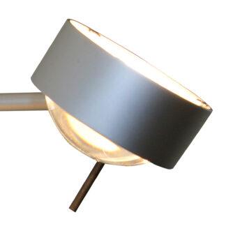 Vägglampa PUK SIDES, 1 ljuskälla 10 cm matt krom