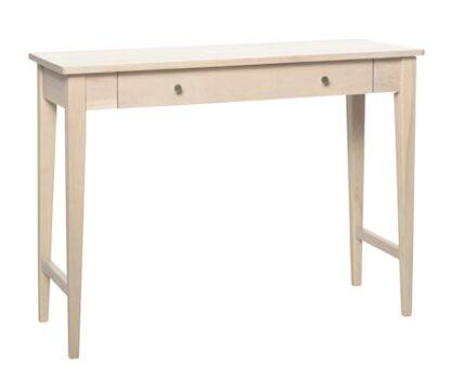 Methro avlastningsbord ek/vit metall